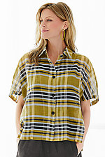 Evie Plaid Shirt by Dress to Kill  (Woven Shirt)