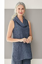 Whitney Tunic by Fenini  (Linen Top)