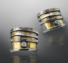 Wrapped Ring with Gemstone by Patricia McCleery (Gold, Silver & Stone Ring)