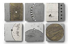 Epic Journey Tiles by Rhonda Cearlock (Ceramic Wall Sculpture)