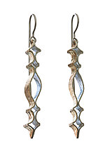 Openwork Earrings by Sher Novak (Gold & Silver Earrings)