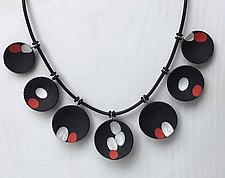 Eliza Necklace by Klara Borbas (Polymer Clay Necklace)