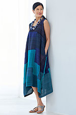 Landscape Patch Tent Dress by Mieko Mintz (Woven Dress)