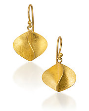 Propeller Earrings by Petra Class (Gold Earrings)