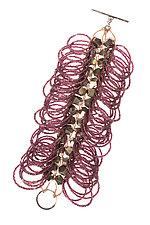 Gilded Bracelet by Michelle Pajak-Reynolds (Silver & Stone Bracelet)