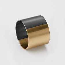 Dyad Cigar Band by Rachel Quinn (Gold & Silver Ring)