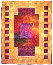 Colorfields: Ametrine by Michele Hardy (Fiber Wall Hanging)