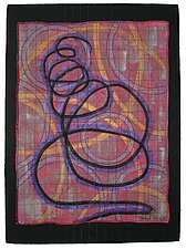 Directions No.19 by Michele Hardy (Fiber Wall Hanging)