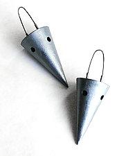 Large Cone Earrings by Emanuela Aureli (Metal Earrings)