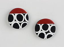 Kiera Earrings by Klara Borbas (Polymer Clay Earrings)