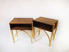 Foxfire Side Tables by B.R. Delaney (Wood Side Tables)