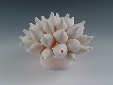 Shells Coral Tea Light by Lilach Lotan (Ceramic Candleholder)