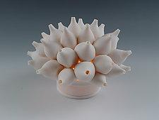 Shells Coral Tea Light by Lilach Lotan (Ceramic Candleholder)