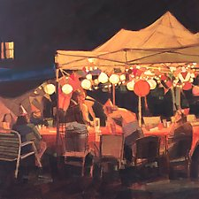 Night Party by Nancy Grist (Giclee Print)