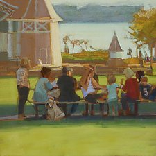 Shady Spot by Nancy Grist (Giclee Print)