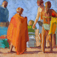 Orange Towel by Nancy Grist (Giclee Print)