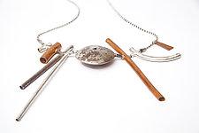 Spirit 2 - Necklace by Emanuela Aureli (Silver Necklace)