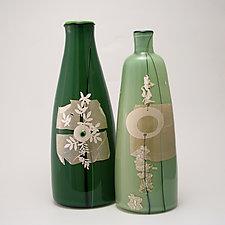 Tree of Life Vase by Richard S. Jones (Art Glass Vase)
