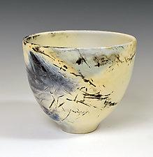 Eggshell Bowl, Small by Judith  Motzkin (Ceramic Vessel)