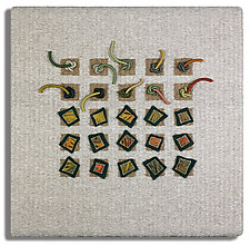 Earth Series No. 15 by Laurie dill-Kocher (Fiber Wall Hanging)