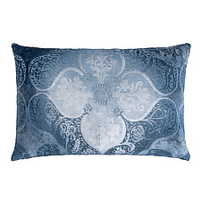 Persian Velvet Lumbar Pillow by Kevin O'Brien (Silk Velvet Pillow)