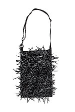 Mesh Bag with Neoprene Tubing by Susan Bradley (Mesh Purse)
