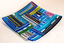 Organic Tray by Renato Foti (Art Glass Tray)