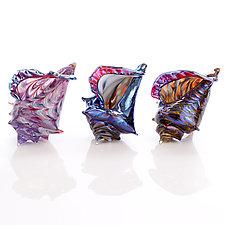 Miniature Shells by Benjamin Silver (Art Glass Sculpture)