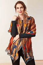Harper Wrap by Elizabeth Rubidge  (Silk & Wool Wrap)