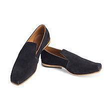 Piazza Suede Flat by CYDWOQ  (Leather Shoe)