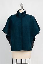 Sparrow Zip Caplet by Vilma Mare (Wool Cape)