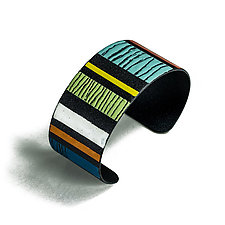 High Frequency Cuff by Lou Ann Townsend and Mary Filapek (Brass Bracelet)