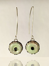 Crush Earrings by Beth Novak (Enameled Earrings)