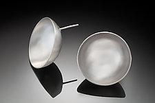 Lunar Earrings by Rina S. Young (Silver Earrings)