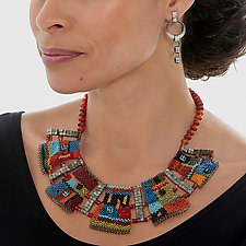 Colorfield Necklace II by Julie Powell (Beaded Necklace)