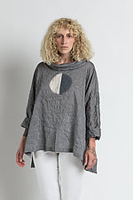 Sona Half-Moon Top by Steve Sells Studio  (Woven Top)