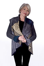 Mstari Flounce Jacket by Robin Bergman (Chenille Jacket)