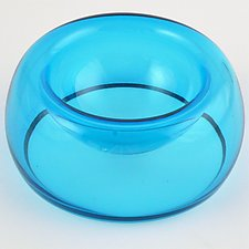 GlassPaw Pet Bowl by Bryan Goldenberg (Art Glass Bowl)