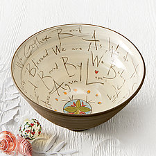 Gather Bowl by Noelle VanHendrick and Eric Hendrick (Ceramic Bowl)