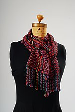 Vibrant Scales Scarf by Muffy Young  (Silk Scarf)