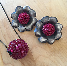 Beaded Ruby Jewelry by Julie Long Gallegos (Beaded Jewelry)