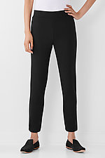 Pebble Crepe Slim Pant by Lisa Bayne  (Knit Pant)
