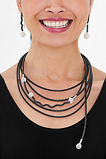 Little Silver Knots Jewelry by Dagmara Costello (Silver & Rubber Jewelry)