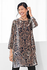 Olivia Velvet Tunic by Lisa Bayne  (Woven Tunic)