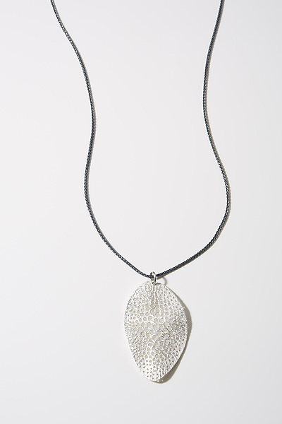 Large Sieve Organic Element Necklace