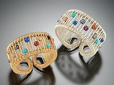 Kinetic Multi-Stone Ring by Tana Acton (Gold, Silver & Stone Rings)