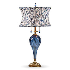 Morgan by Susan Kinzig and Caryn Kinzig (Mixed-Media Table Lamp)