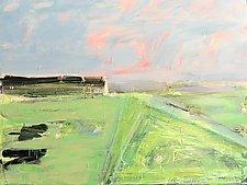 Landscape Derivation V by Leonard Moskowitz (Acrylic Painting)