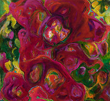 Full Bloom by Kathryn Pistor (Acrylic Painting)