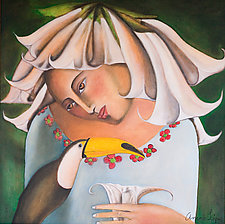 Datura Mistica, Mystic Datura by Armando  Adrian-Lopez (Pigment Print)